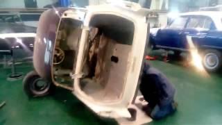 Retroworkroom. ГАЗ-21 Хрущёв. Антикор #rwrm