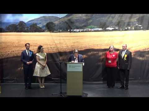 Ochil & Perthshire South - General Election Declaration