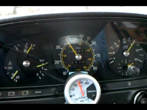 1982 Mercedes 300D Turbo Diesel 0-65mph - YouTube
