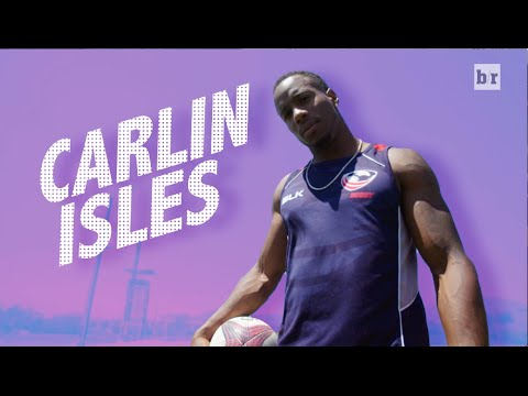 The Fastest Man In Rugby, Carlin Isles, Plays For Team USA