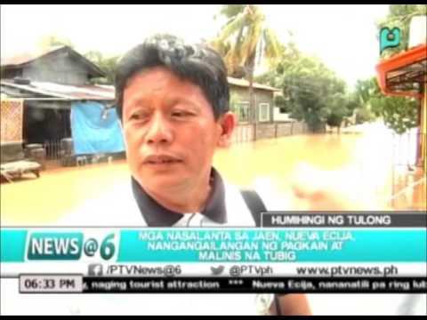 News@6: Mga residente ng Jaen, Nueva Ecija, nananawagan ng tulong || Oct. 20, 2015