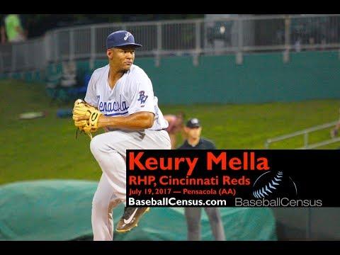 Keury Mella, RHP, Cincinnati Reds — July 19, 2017