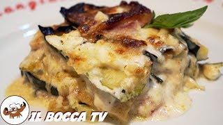 600 - Parmigiana bianca di zucchine...una storia a lieto fine! (contorno facile veloce e gustoso)