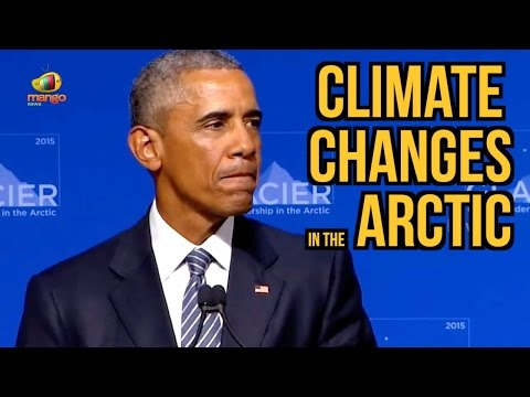 Glacier Conference | President Barack Obama Addresses Climate Changes in the Arctic | Mango News