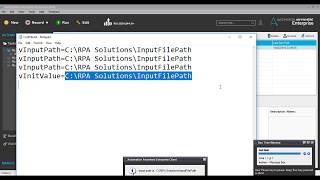 الأتمتة في أي مكان تكوينات الملف | IBM RPA AA Config أفضل الممارسات