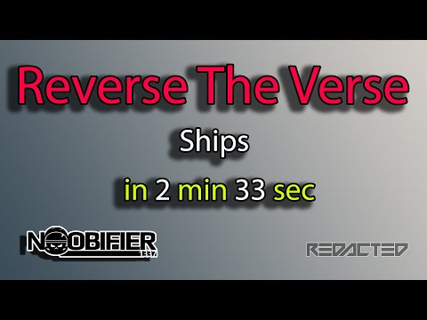 Reverse The Verse in 2 Min and 33 Sec - The State of ships. AKA Carrack and Friends #starcitizen
