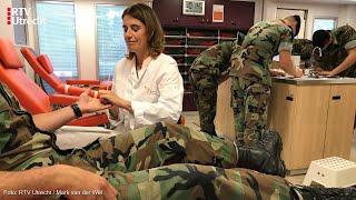 Wereld Bloeddonordag bij de mariniers in Doorn [RTV Utrecht]