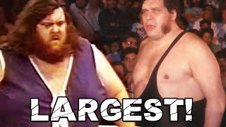 Andre The Giant vs Giant Haystacks - World