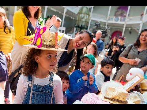 Edinburgh International Children's Festival Opening Weekend at the National Museum of Scotland