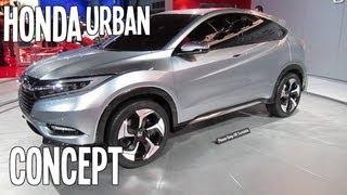 Honda Urban Suv Concept First Look 2013 Detroit