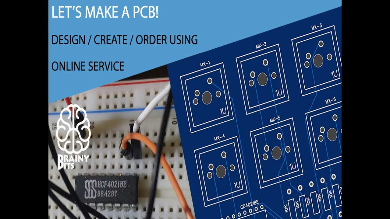 Let\'s make a PCB using an online service for professional results ...
