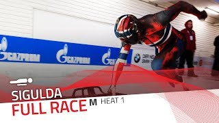 Sigulda | BMW IBSF World Cup 2018/2019 - Men's Skeleton Heat 1 | IBSF Official