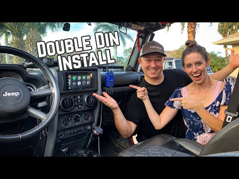 How To Install a Touchscreen Radio into a Jeep Wrangler!