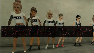 Sorry Not Sorry - Avakin Life Music Video