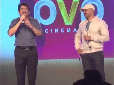 king nagarjuna wonderful speech at oopiri tamil audio function ...must watch...!!!