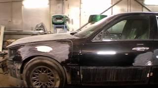 Покраска автомобиля Линкольн Таун Кар / Lincoln Town Car