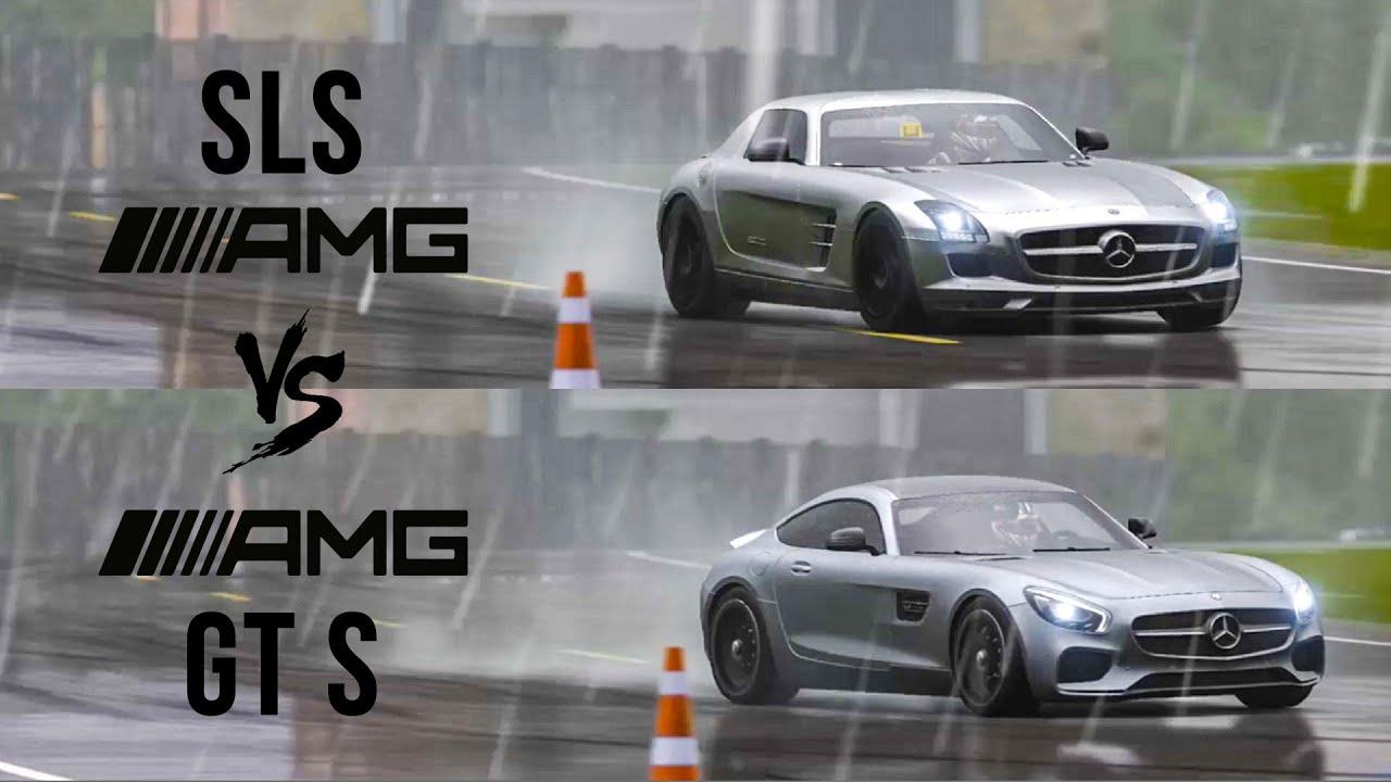 Mercedes Sls Amg Gt >> Mercedes Sls Amg Vs Amg Gt Top Gear Track Battle