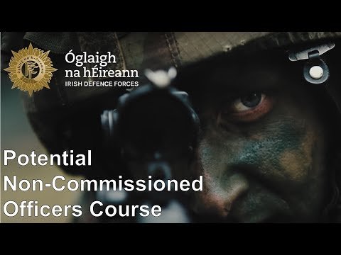 Irish Defence Forces - Leadership Training