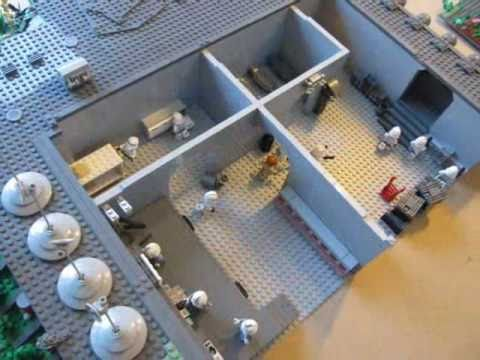 lego star wars- clone base on saleucami - youtube