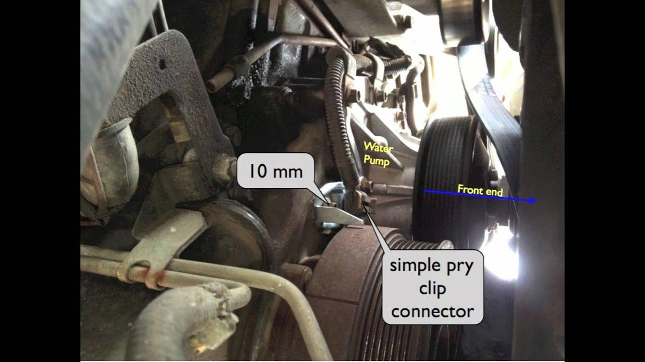 medium resolution of camshaft position sensor 7 3 powerstroke location and install