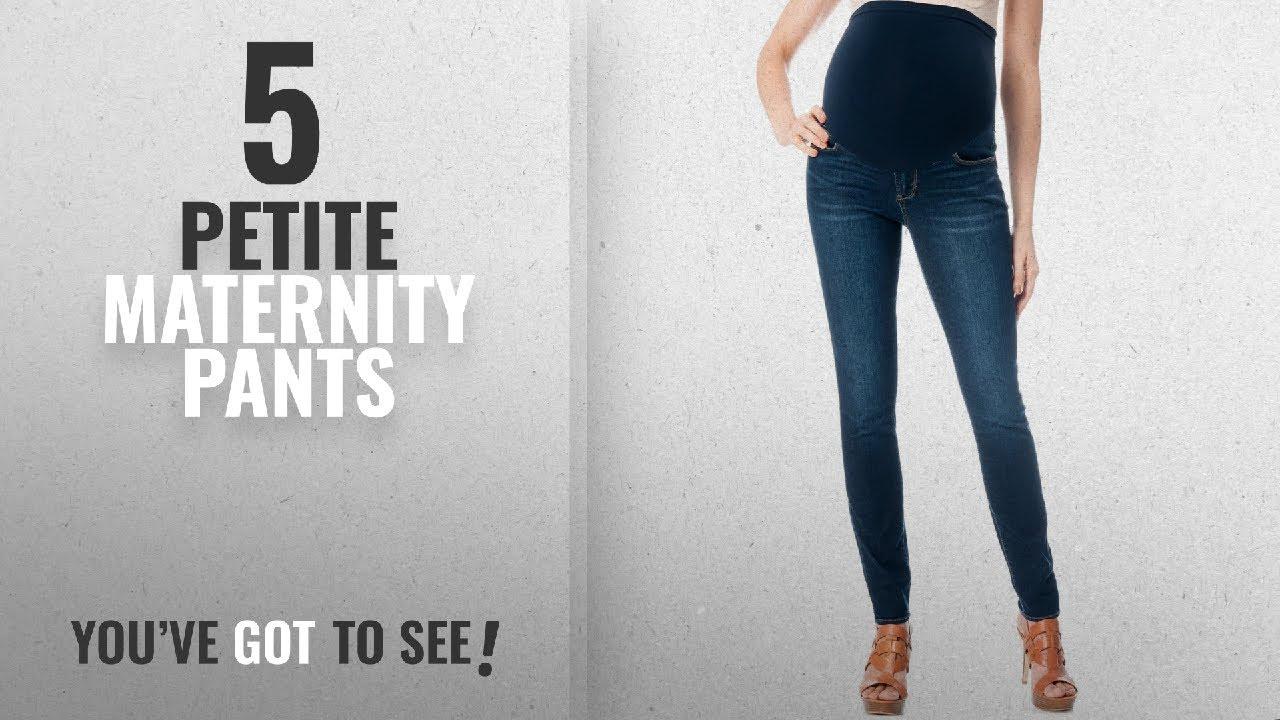 b604496657655 Top 10 Petite Maternity Pants [ Winter 2018 ]: Sexy Petite Dark Denim  Maternity Skinny Jeans (Large)