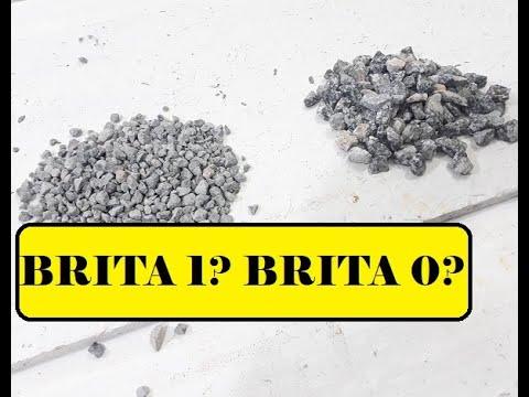 Qual BRITA utilizar no seu CONCRETO? BRITA 1 ou BRITA 0 ...