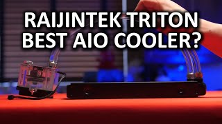 Raijintek Triton All-in-one Liquid Cooler - Best looking AIO cooler on the market?