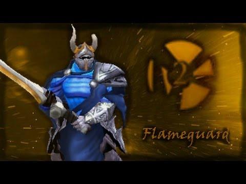 Dota 2 Store - Flameguard Set - Sven - YouTube