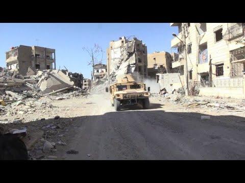 قوات سوريا الديموقراطية تخوض معاركها الأخيرة  في الرقة