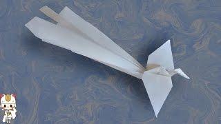 как сделать оригами из бумаги жар птицу
