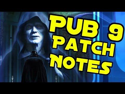 SWGEmu - Ep.187 - Pub 9 Patch Notes