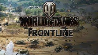 New Mode Frontline 30 vs 30 Tanks Battle World of Tanks