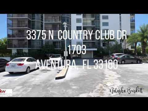 3375 N Country Club Dr. 1703 Aventura, FL 33180