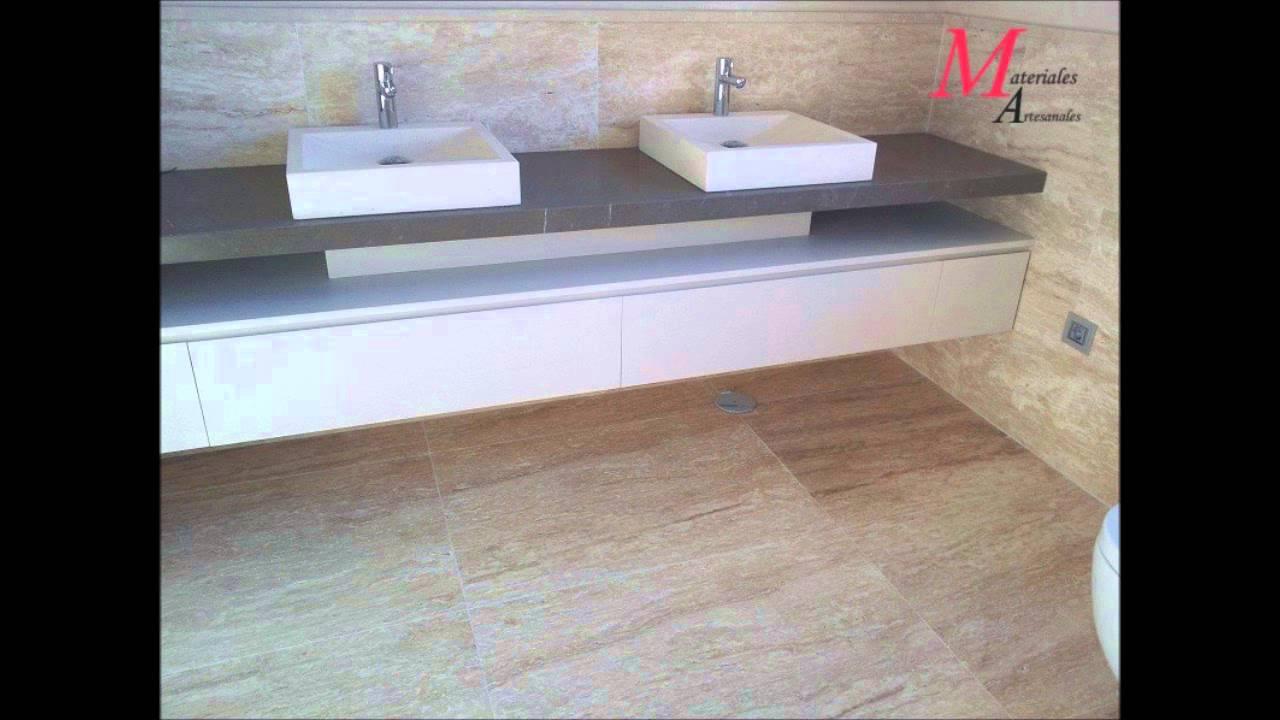 Lavabos y fregaderos de m rmol y piedra natural youtube - Lavabos de marmol para bano ...