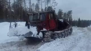 Дороги севера. Лесовоз4320, Трактор ( Т-4) Russian OFF Road MONSTER truck