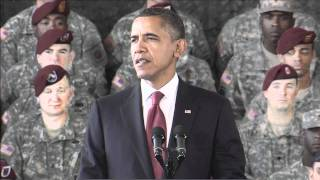 President Obama Commemorates End of Iraq War - High Definition