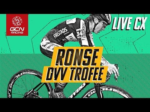 LIVE Cyclo-cross: Ronse DVV Trofee 2019 Elite Men's & Women's Races | CX On GCN Racing