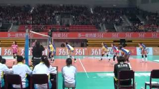 [2013.11.30] Guangdong Evergrande vs Henan  Set1