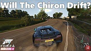Forza Horizon 4: BUGATTI CHIRON DRIFT CHALLENGE!