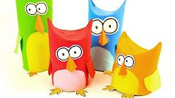 Easy DIY Cardboard & Paper Crafts For Kindergarten - YouTube