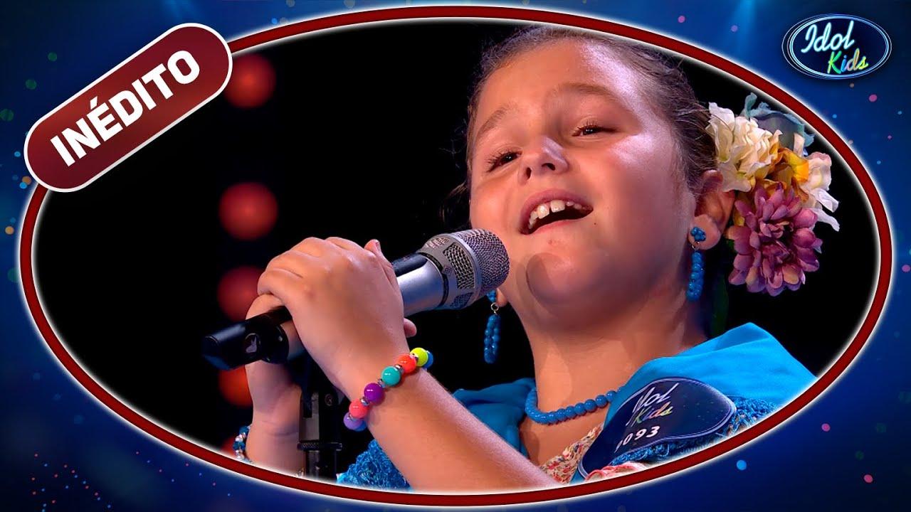 Rocío Querencio se atreve con el FLAMENCO en su explosiva actuación   Idol Kids 2020   Inéditos