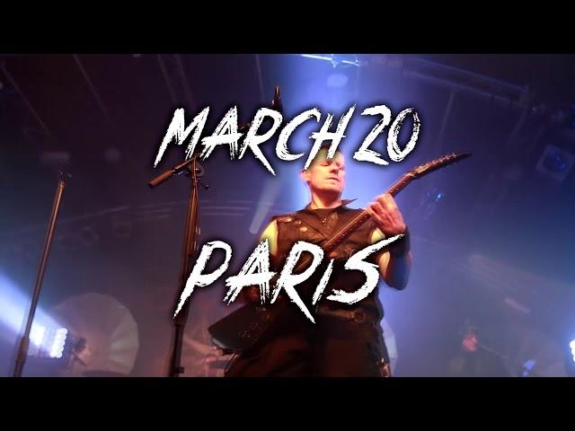 Ritual Tour 2019 - Paris