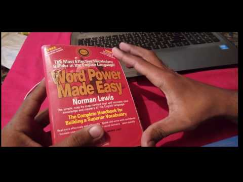 How to build your vocab with Word Power Made Easy by Norman Lewis | Full Review |