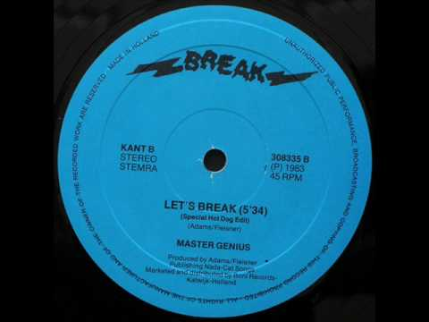 MASTER GENIUS - LET'S BREAK (℗1983)