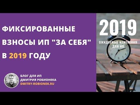 """Фиксированные взносы ИП """"за себя"""" в 2019 году: подробная схема и частые вопросы"""