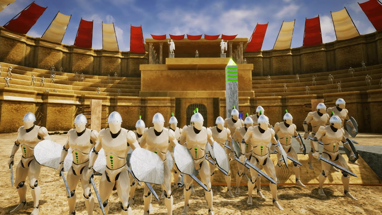 roman games in the colosseum The colosseum as an enduring icon of rome: a comparison of  the political aspects of the games in the colosseum he claims that there was a need to process.