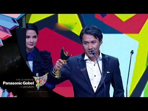 Agus Kuncoro   Pemenang Pemeran Pria Sinetron Terfavorit   Panasonic Gobel Awards 2018