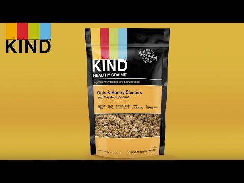 KIND Healthy Grains Clusters with 5 Super Grains: More Than a Granola Snack