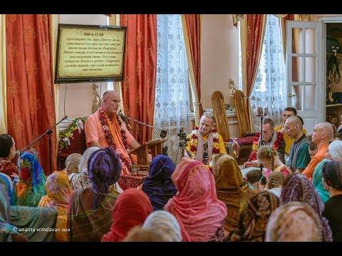 Class SB 4.17.28 Indradyumna Swami. Irkutsk 10.04.2018
