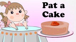 Pat A Cake Baker's Man Animated Engilsh Kids Nursery Rhymes | Cartoon Songs in HD For Children thumbnail